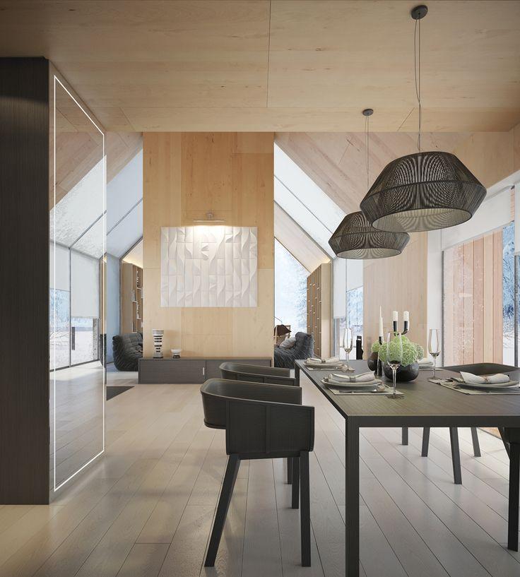 Retractable house / Dmitry Sheleg – nowoczesna STODOŁA | wnętrza & DESIGN | projekty DOMÓW | dom STODOŁA