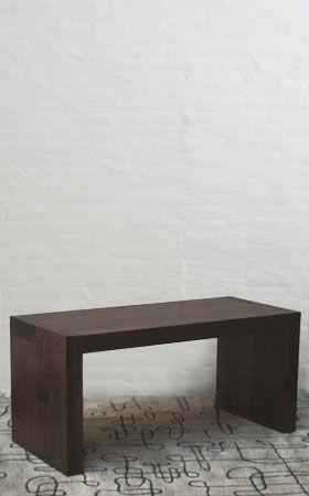 BDDWInde Projects, Axel Benches, 198 Richmond, American Black, Materials Focus, Furniture Design, Black Walnut