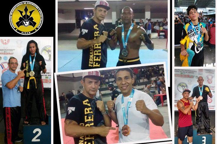 Atletas da AIKAM dão show na 2ª Taça Guanabara de Kickboxing
