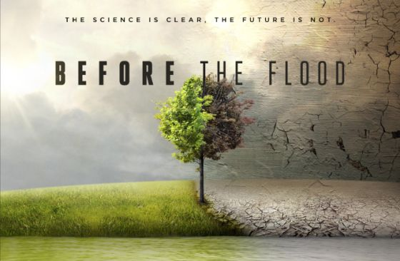 El documental de Leonardo DiCaprio Before the Flood será transmitido vía streaming de forma gratuita