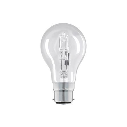Pack of 2 Dunelm 70 Watt Halogen Bayonet Cap GLS Light Bulbs