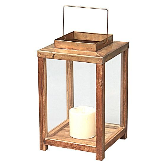 Square Lantern with Square Opening by LS Collections