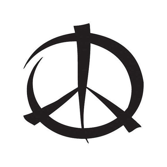 Peace Sign Vinyl Decal