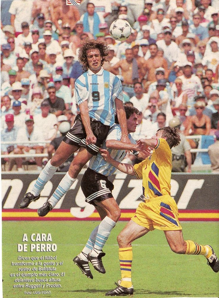 Rumania 3 Argentina 2 (Copa del Mundo USA 1994,Estadio Rose Bowl,Los Angeles,03/07/1994)