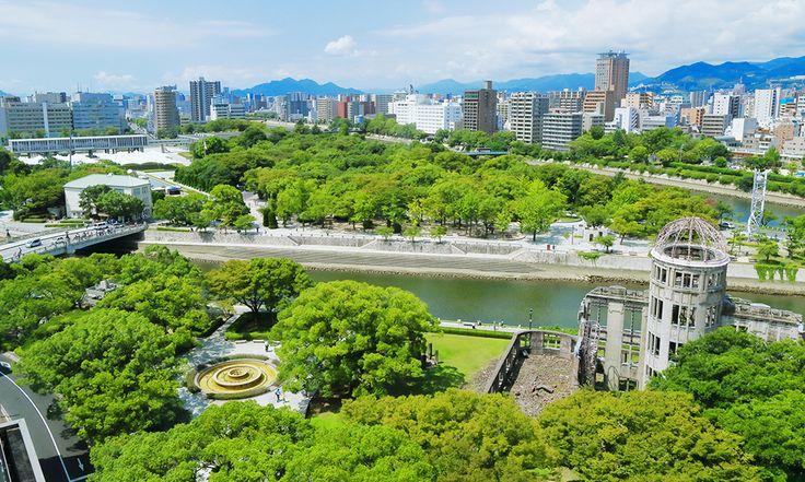 역사와 자연이 공존하는 히로시마현으로
