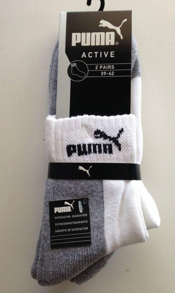 "set 6 paia calze sport uomo corto  ""PUMA"" outlet INTIMONLINEBYMUOLO bco/grigio"