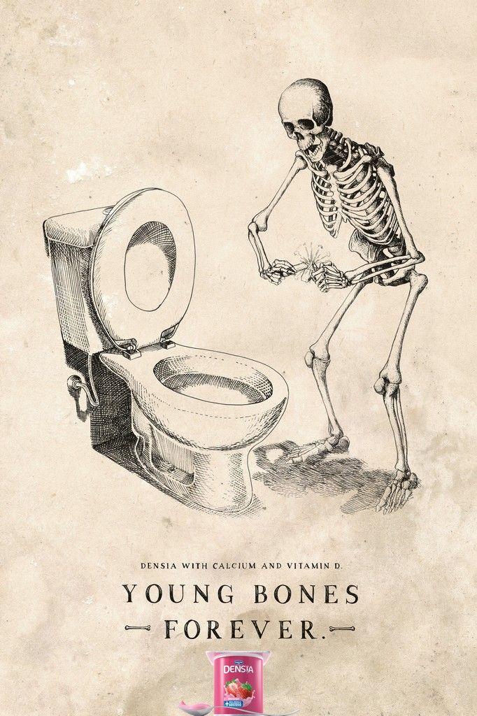 Danone Densia: Bomb   Danone Densia with calcium and vitamin D. Young bones forever.