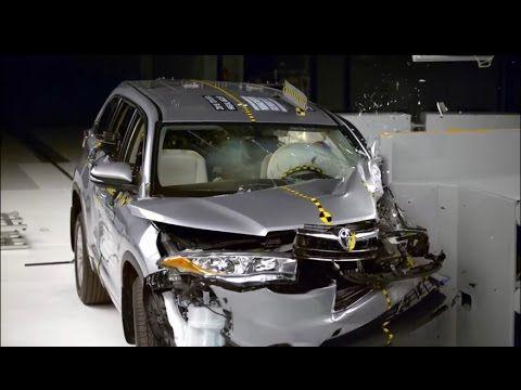 Crash Test Toyota Highlander | Краш Тест Тойота Хайлендер