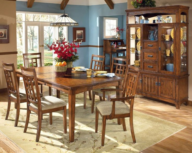 Cross Island Dining Room Set | Furniture World Galleries: A Furniture And  Mattress Store Serving