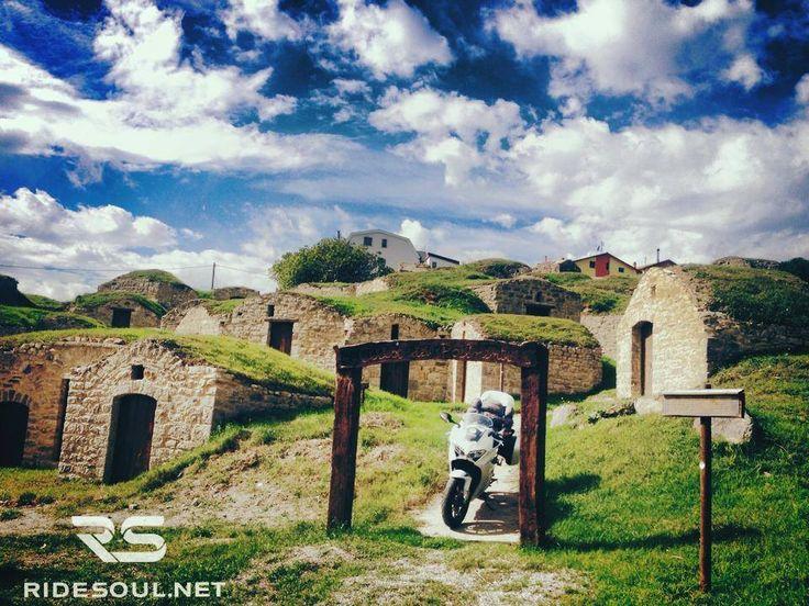 "Medieval wine cellar in Basilicata, ""Palmenti""! #motorcycle #tour #italy"