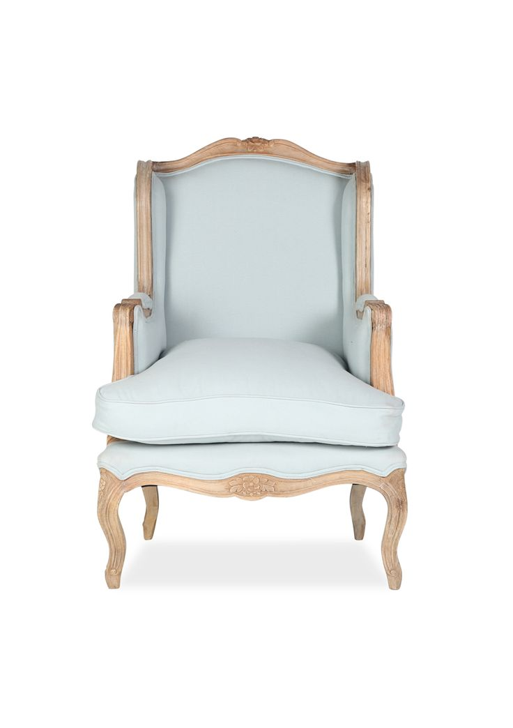 WALLACE ARMCHAIR - DUCK EGG BLUE