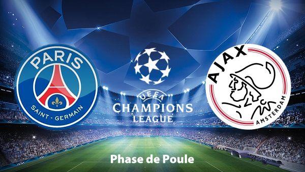 Agen Bola : Paris Saint-Germain Melawan Ajax Lanjutan Liga Champions Grup F