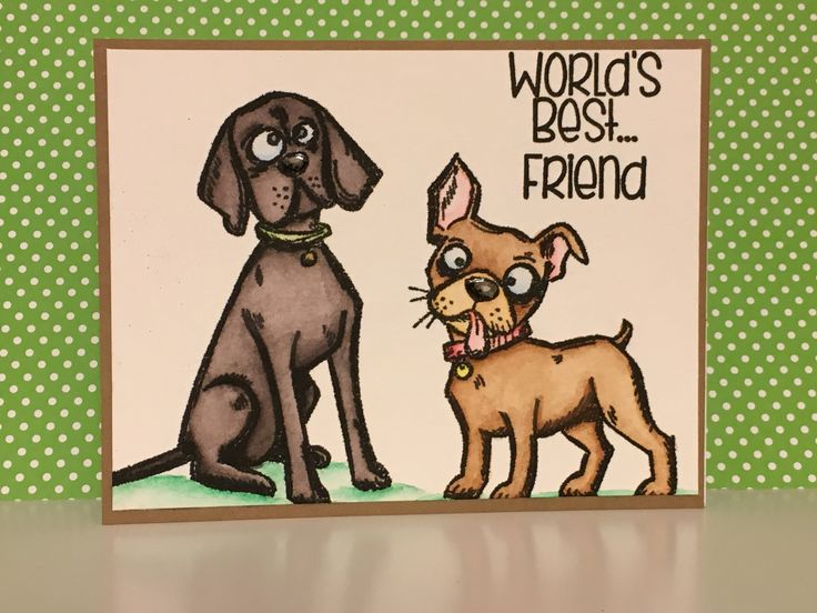 """Video Card Tutorial (Series Part-4) Feat. """"Crazy Dogs"""" by Tim Holtz"""