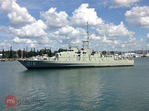 HMAS Gladstone - Gladstone Qld
