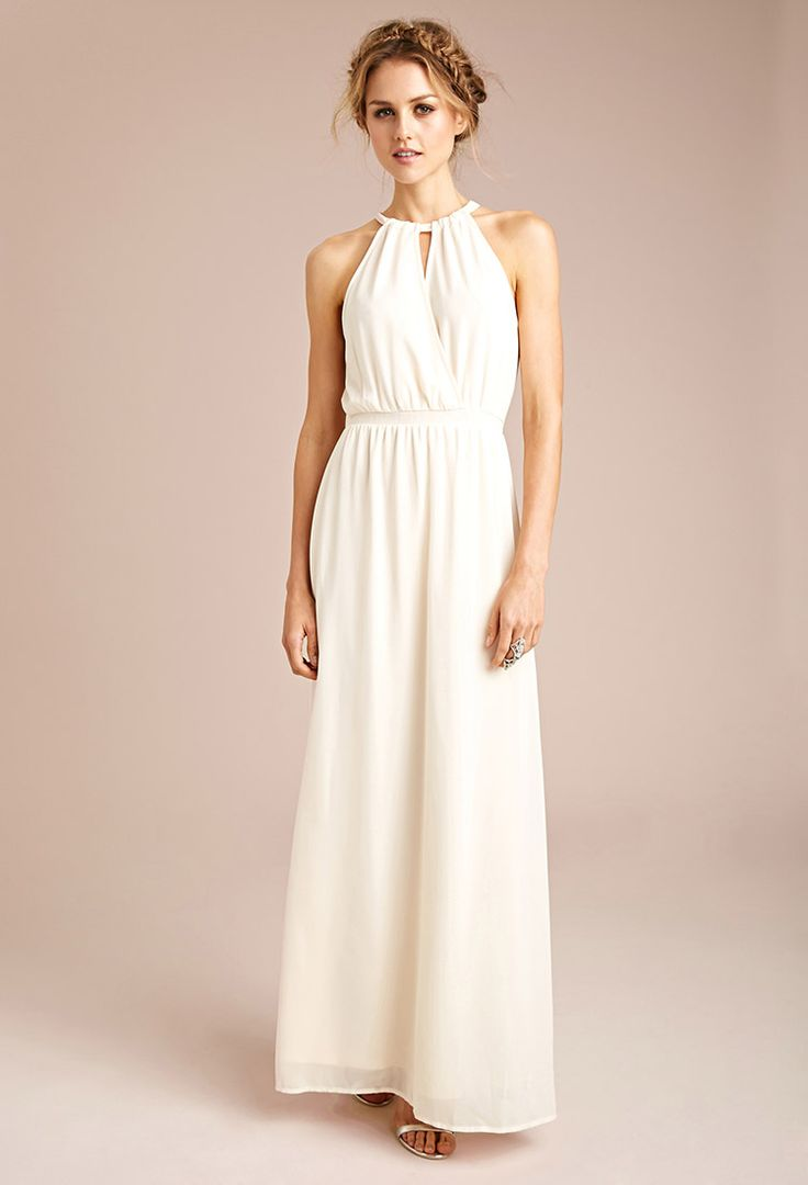 Halter Maxi Dresses for Weddings | Dress images