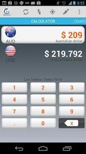 Conversor de moneda - Cambio: miniatura de captura de pantalla