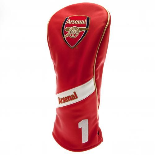 Executive Arsenal FC golf driver headcoverin a heritage design and featuring the club crest. FREE DELIVERY on all of our football golf merchandise