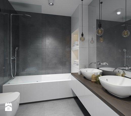 Aranżacje wnętrz - Łazienka: Mieszkanie M3 - Średnia łazienka w bloku bez okna, styl minimalistyczny - MS Group. Przeglądaj, dodawaj i zapisuj najlepsze zdjęcia, pomysły i inspiracje designerskie. W bazie mamy już prawie milion fotografii!