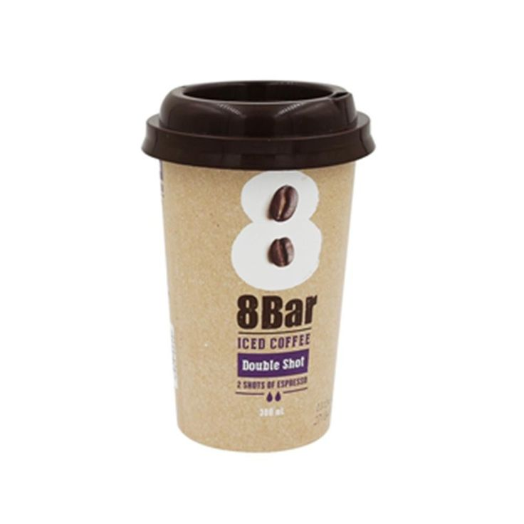 IML Plastic Coffee Cup with Lid and Straw,PP Coffee Cup Disposable,Food Grade Anti-Counterfeiting Coffe Cups.