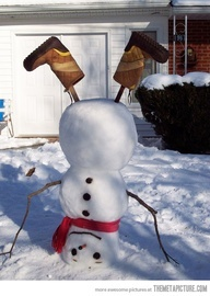 Snowman: Look at me