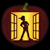 Peter Pan Window – Pumpkin Pattern