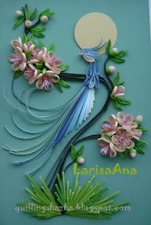 Wow! Larisa Ana a fabulous quilling artist!: Paper Quilling, Diy Crafts, Birds Of Paradis, Cute Ideas, Beautiful Quilling, Oriental Birds, Quilling Birds, Quilling Art, Paper Crafts