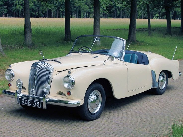 Daimler Conquest Convertible Vintage Cars