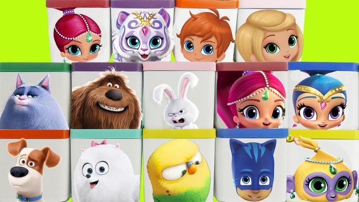 Today it's a huge compilation show of SHIMMER AND SHINE from Nick Jr & The…