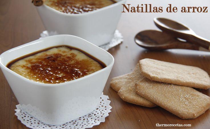 Natillas de arroz - http://www.thermorecetas.com/2014/04/05/natillas-de-arroz/