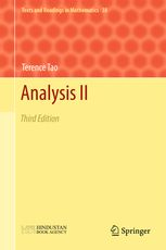 Analysis II - Third Edition | Terence Tao | Springer