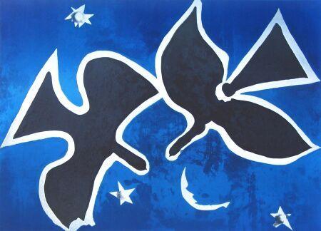 Georges Braque – Les oiseaux noirs