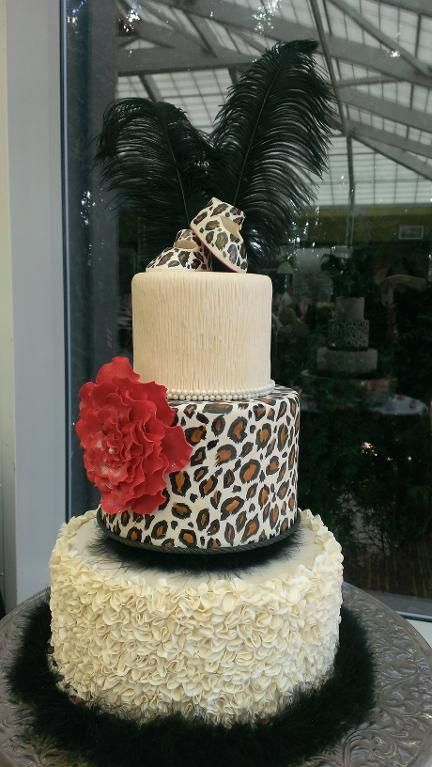 Leopard Sugar Sheets For Cakes