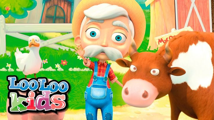 Old MacDonald Had A Farm - THE BEST Song for Children | LooLoo Kids - YouTube