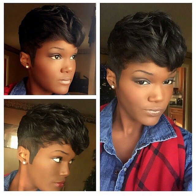 STYLIST FEATURE| Love this #pixiecut on @chrishun_ done by #JacksonMississippi stylist @Zeek_TopKnotch❤️ She looks GORG #VoiceOfHair ========================= Go to VoiceOfHair.com ========================= Find hairstyles and hair tips! =========================