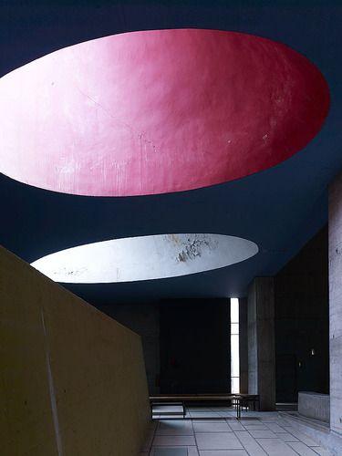 Le Corbusier. Couvent Sainte-Marie de la Tourette, Eveux-sur-l'Arbresle, France, 1953. Photo by Cemal Emden.