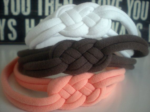 Poncho.Dean-3 Jersey Sailor Knot Headbands- on Etsy, $24.00
