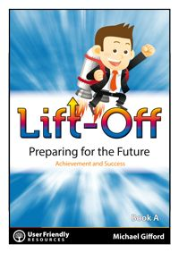 From former high school principal - Michael Gifford -  Lift Off is a two-book series that is packed with a broad range of information tips, motivational stories, inspirational quotes and supporting student activities in the areas of goal setting, positive thinking, getting motivated, study techniques and learning to learn. Great for senior students needing that extra push!
