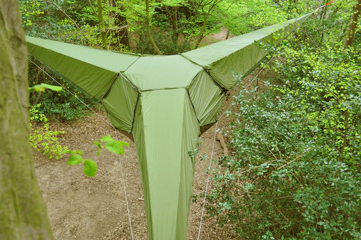 Treehouse tent from TentsileHammocks Tents, Amazing Trees, Cool Tents, Trees House, Trees Tents, Tentsile, Tents Camps, Gears, Hanging Tents