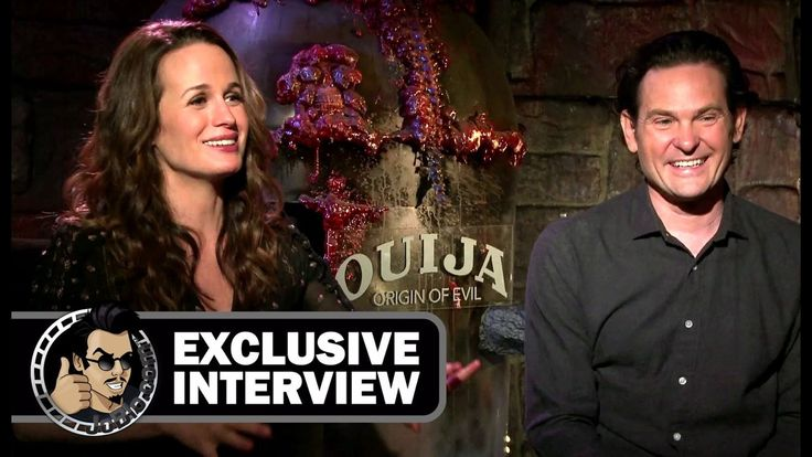 nice Watch Elizabeth Reaser & Henry Thomas Interview - OUIJA: ORIGIN OF EVIL (Exclusive) JoBlo.com
