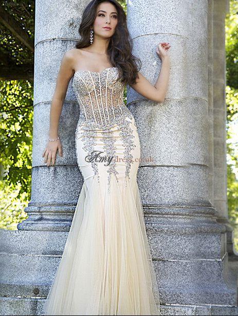 16 best Mermaid Prom Dresses UK images on Pinterest | Formal evening ...