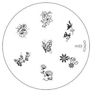 Konad Stamping Sablon M53