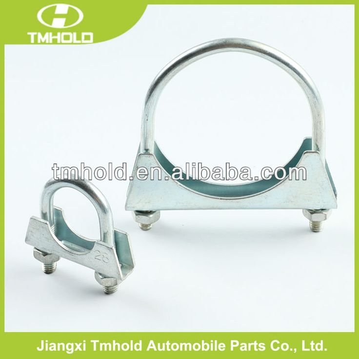 "Stainless steel 3/8"" U type pipe clamp for manifold wastegate downpipe $0.01~$1"