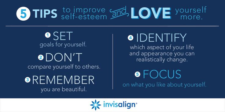 Need a boost of self-confidence? These tips might help. Schedule a consultation with an Invisalign-trained dentist or orthodontist in your area to find out if Invisalign can transform your smile and improve your self-esteem.