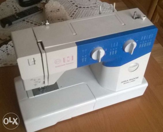 199 zł: Sprzedam sprawną maszynę do szycia Arka Radom JH682. Maszyna kupiona 2 lata temu. Cały ten czas przeleżała w szafie z powodu trudności w nauce szycia na niej (pierwszy kontakt z maszynami do szycia w ...