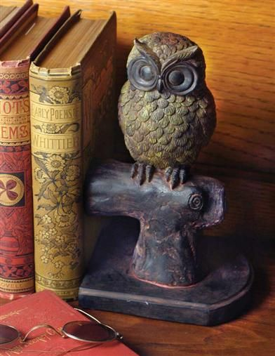 HOOTIE & HATTIE OWL BOOKENDS **If I ever get a decent bookshelf, I'm definitely getting these!!