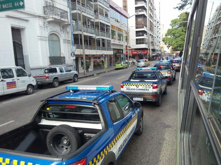 Fiat Strada . Policia Caminera Policia de la Provincia de Cordoba