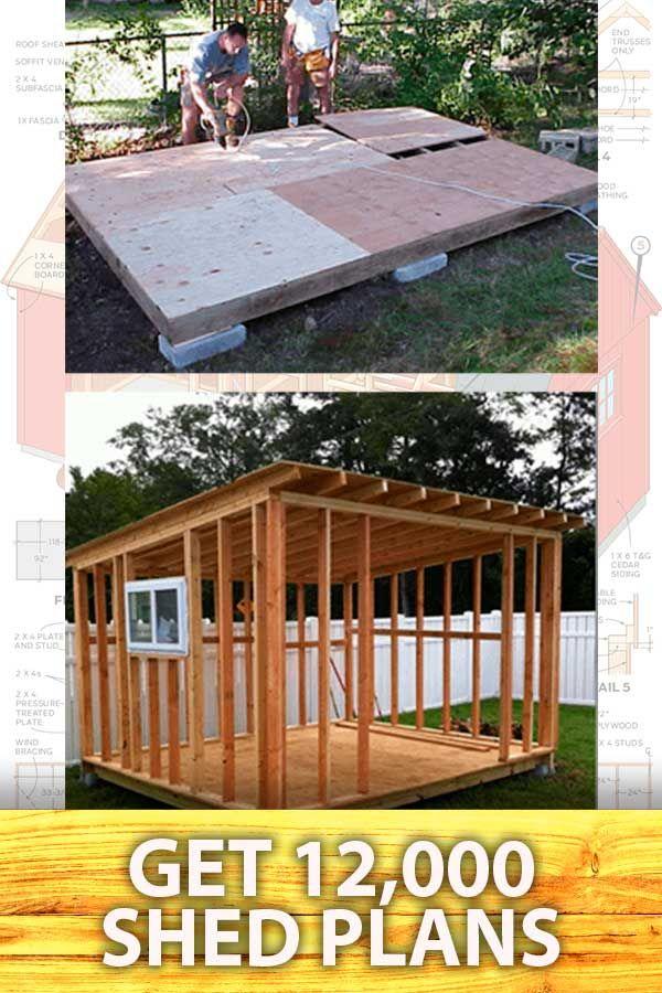 Download 12 000 Shed Building Plans Backyard Sheds Building A Shed Outdoor Sheds