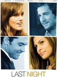 Last night - Films de Lover, films d'amour et comédies romantiques.