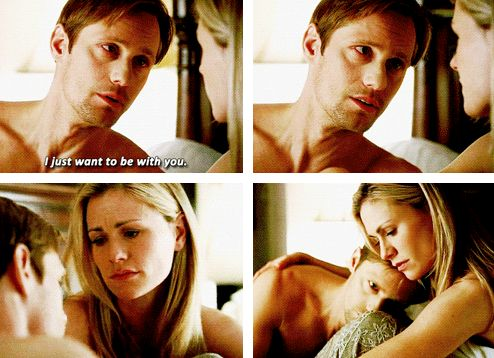 eric northman & sookie stackhouse - true blood - ughhh this needs to come back
