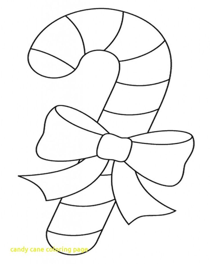 Candy Canes Coloring Pages Within Candy Cane Coloring Pages